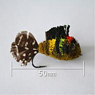 """500 stk Kunstaas Vast Aas Kunstaas g/Ons,50 mm/2-1/8"""" duim,Veer Aas Uitzoeken"""