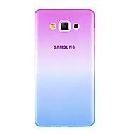 Fashion Soft TPU Gradient Color Back Cover Case For Samsung Galaxy J1 J2 J3 J5 J7 2016 Grand Prime G530