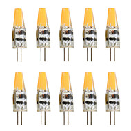 2 W Becuri LED Bi-pin 200-250 lm G4 T 1 LED-uri de margele COB Decorativ Alb Cald Alb Rece 12 V, 10pcs / 10 bc