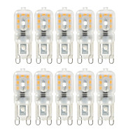 abordables Paquetes de Bombillas-ywxlight® 10pcs dimmable g9 4w 300-400 lm led bi-pin luces 14 leds smd 2835 blanco cálido blanco frío natural blanco ac 220v 110v