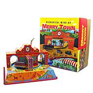 Odstresowywujący Zabawy w odgrywanie ról Zabawka nakręcana Zabawkowe samochody Zabawki Kwadrat Autobus Metal 1 Sztuk Święta Bożego