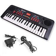 Toy Instruments Elektronisk keyboard Legetøjsinstrumenter Legetøj 1 Stk. Børn Nytår Barnets Dag Fødselsdag Gave