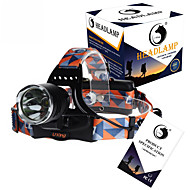 U'King ZQ-X8000 Headlamps Headlamp Straps Headlight LED 3000LM lm 3 Mode Cree XM-L T6 Rechargeable Compact Size High Power Easy Carrying
