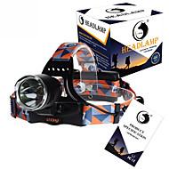 U'King ZQ-X8000 헤드램프 헤드 램프 스트랩 헤드라이트 LED 3000LM lm 3 모드 Cree XM-L T6 충전식 응급 컴팩트 사이즈 높은 전력 휴대성 용 캠핑/등산/동굴탐험 배터리 불포함