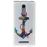 お買い得  携帯電話ケース-ケース 用途 Xiaomi Miケース パターン バックカバー アンカー ソフト TPU のために Xiaomi Redmi Note 3