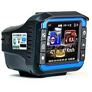 Недорогие Видеорегистраторы для авто-VGR-33 720p 1080p Автомобильный видеорегистратор 120° / 140° Широкий угол 12.0 Мп КМОП 2 дюймовый Капюшон с Обноружение движения Автомобильный рекордер