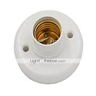 Base portalampada per lampadine e27 con connettore - bianco di alta qualità
