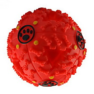 Cat Chew Toys Dog Chew Toys Squeak / Squeaking Food Dispenser Rubber For Dog Puppy