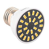 E26/E27 Focos LED MR16 24 leds SMD 5733 Decorativa Blanco Cálido Blanco Fresco 400-500lm 2800-3200/6000-6500K AC 100-240 AC 110-130V