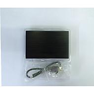 모바일 하드 디스크 상자 2.5 인치 노트북 하드 디스크 상자 USB2.0 금속 하드 디스크에 임의의 색상