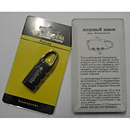 여행가방 자물쇠 코드 자물쇠 손가락 수화물 악세사리 도난 방지 제품 수화물
