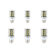 cheap LED Corn Lights-8W E14 B22 E26/E27 LED Corn Lights B 136 SMD 5733 750-800 lm Warm White Cold White K Decorative AC 220-240 V