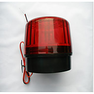 yanıp sönen kırmızı ışıklar yanıp sönen ışık motosiklet hırsızlığa karşı güvenlik