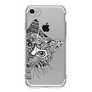 Назначение iPhone 8 iPhone 8 Plus iPhone 7 iPhone 7 Plus iPhone 6 Чехлы панели С узором Задняя крышка Кейс для Кот Мягкий Термопластик для