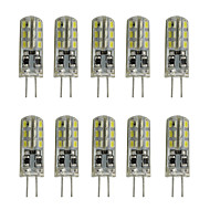 1W G4 2-pins LED-lampen TL 24 SMD 3014 80-120 lm Warm wit Koel wit K Decoratief DC 12 V