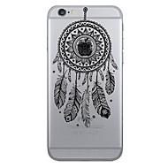 Назначение iPhone X iPhone 8 iPhone 7 iPhone 7 Plus iPhone 6 Чехлы панели С узором Задняя крышка Кейс для Ловец снов Мягкий Термопластик