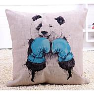 1 szt Cotton / Linen Poszewka na poduszkę,Wzór zwierzęcy Nowość Wzory graficzne Modern / Contemporary Tradycyjny / Classic