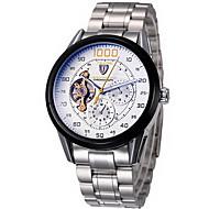Tevise Муж. Наручные часы Механические часы С автоподзаводом Секундомер Защита от влаги Нержавеющая сталь Группа Cool Серебристый металл
