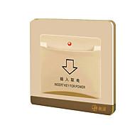 abordables Piezas de Bricolaje y Manualidades-jp86 nota - cualquier retraso switchany eléctrica tarjeta de conmutación eléctrica tarjeta de oro de la manzana