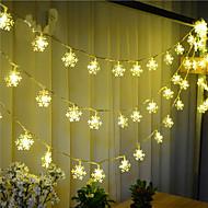 100 주도 10m 눈 빛 방수 플러그 야외 휴가 장식 빛 주도 문자열 빛