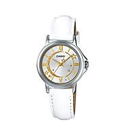 abordables Relojes de Moda-Mujer Reloj de Moda Cuarzo Resistente al Agua Piel Banda Analógico Lujo Casual Blanco - Blanco / Acero Inoxidable
