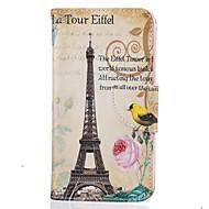Til lg k10 k8 tårn af paris mønster maleri pu materiale telefon cover til lg k10 k8 k7