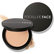 preiswerte -1 Puder Trocken / Matt / Mineral Puder Weiß machen / Lang anhaltend / Concealer / Wasserdicht / Natürlich Gesicht Verfügbare Farbe