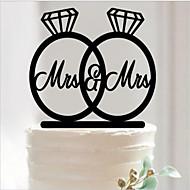 abordables Decoraciones de Boda-Fiesta de Boda Acrílico Material Mixto Decoraciones de la boda Tema Clásico Todas las Temporadas