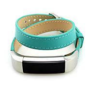 Недорогие Аксессуары для смарт-часов-Ремешок для часов для Fitbit Alta Fitbit Классическая застежка Кожа Повязка на запястье