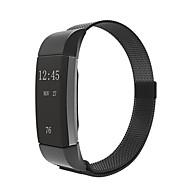 Недорогие Аксессуары для смарт-часов-Ремешок для часов для Fitbit Charge 2 Fitbit Миланский ремешок Нержавеющая сталь Повязка на запястье