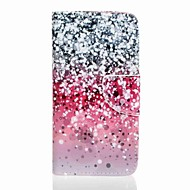 Для Кошелек / Бумажник для карт / со стендом Кейс для Чехол Кейс для Градиент цвета Твердый Искусственная кожа SamsungJ5 (2016) / J5 / J3