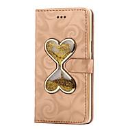 お買い得  携帯電話ケース-ケース 用途 Samsung Galaxy A5(2016) A3(2016) カードホルダー ウォレット スタンド付き リキッド フルボディーケース 純色 ハード PUレザー のために A5(2016) A3(2016) A9 A8 A7 A5 A3