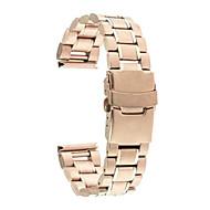 Недорогие Часы для Samsung-Ремешок для часов для Gear S2 Gear S2 Classic Samsung Galaxy Классическая застежка Современная застежка Металл Нержавеющая сталь Повязка