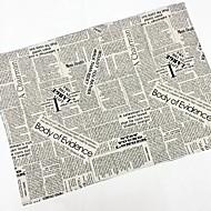 Kwadrat Toile Serwetka , Bielizna Materiał Tabela Dceoration 4