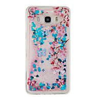 Case Kompatibilitás Samsung Galaxy J5 (2016) J3 (2016) Folyékony Minta Hátlap Csillogó Puha TPU mert J5 (2016) J5 J3 (2016) J3 Grand