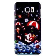 Для samsung galaxy s7 s6 край кейс крышка рождественская серия живопись масло уровень для кожи материал для ПК