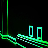 Green Fluorescence  Sticker Night Luminous Tape Strip Decal Decoration for Stair Door Motorcycle Car Luminous Tape Reflective