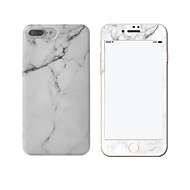 Недорогие Кейсы для iPhone 8 Plus-Кейс для Назначение Apple iPhone X iPhone 8 iPhone 8 Plus iPhone 6 iPhone 7 Plus iPhone 7 IMD Кейс на заднюю панель Мрамор Мягкий ТПУ для
