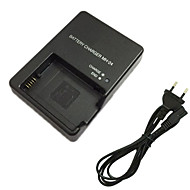 EL14 Battery Charger and EU Charger Cable for Nikon EN-EL14 P7700 D3100 D3200 D5300 EN-EL14 EL14A