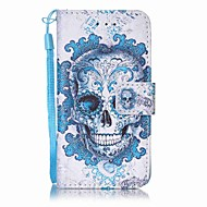 Cloud Ghost Head Painting PU Phone Case for apple iTouch 5 6