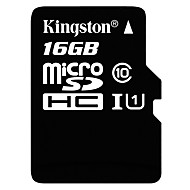 billige -Kingston 16GB Micro SD-kort TF kort minnekort UHS-I U1 Class10