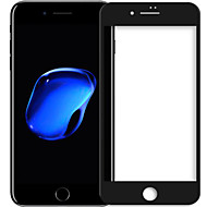 Недорогие Модные популярные товары-Защитная плёнка для экрана для Apple iPhone 7 Plus Закаленное стекло 1 ед. Защитная пленка для экрана HD / Уровень защиты 9H / Взрывозащищенный