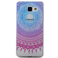 voordelige Galaxy A3(2016) Hoesjes / covers-hoesje Voor Samsung Galaxy A5(2016) A3(2016) Transparant Patroon Achterkantje Dromenvanger Zacht TPU voor A5(2016) A3(2016)