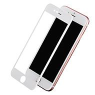 Недорогие Защитные плёнки для экрана iPhone-Защитная плёнка для экрана Apple для iPhone 7 Закаленное стекло 1 ед. Защитная пленка на всё устройство Уровень защиты 9H