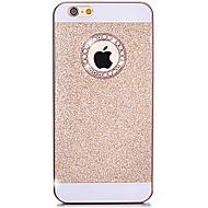 Недорогие Кейсы для iPhone 8 Plus-Назначение iPhone X iPhone 8 iPhone 7 iPhone 7 Plus iPhone 6 iPhone 6 Plus Кейс для iPhone 5 Чехлы панели Стразы Задняя крышка Кейс для