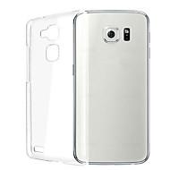 halpa Samsung kotelot / kuoret-Etui Käyttötarkoitus Samsung Galaxy Samsung Galaxy kotelo Läpinäkyvä Takakuori Yhtenäinen väri TPU varten S6