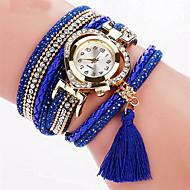Damskie Modny Zegarek na nadgarstek Zegarek na bransoletce Kolorowy Kwarcowy PU PasmoPostarzane Błyszczące Heart Shape Kropka Słodycze
