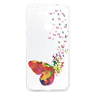 billige Mobilcovers-Til google pixel xl pixel cover dækker sommerfugl mønster bagcover soft tpu