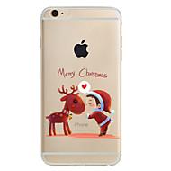 Назначение iPhone X iPhone 8 iPhone 8 Plus iPhone 7 iPhone 6 Кейс для iPhone 5 Чехлы панели С узором Задняя крышка Кейс для Рождество