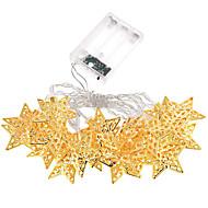halpa LED-hehkulamput-loma valo tähdet johti nauhat 20 lamppu pallot / setti johti string hääjuhlissa värivalot joulukoristeita